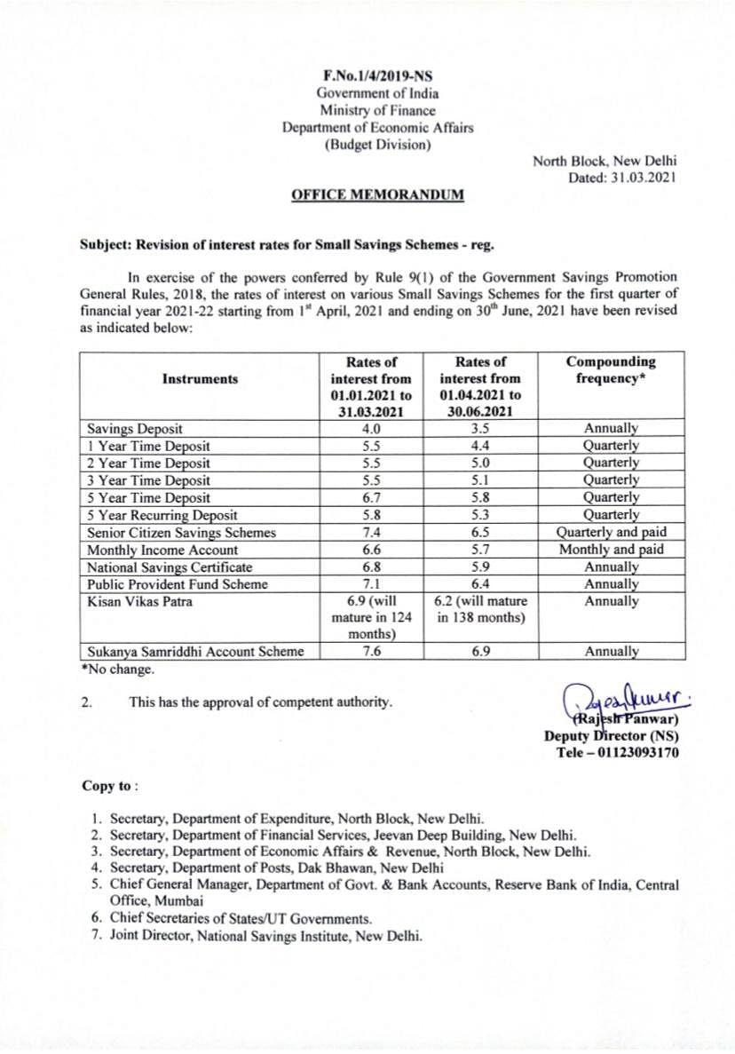 On Thursday, Finance Minister Nirmala Sitharaman withdrew the Memorandum issued by Ministry of Finance on Wednesday