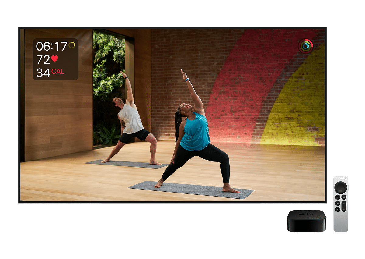 The Apple TV 4K with a Siri Remote