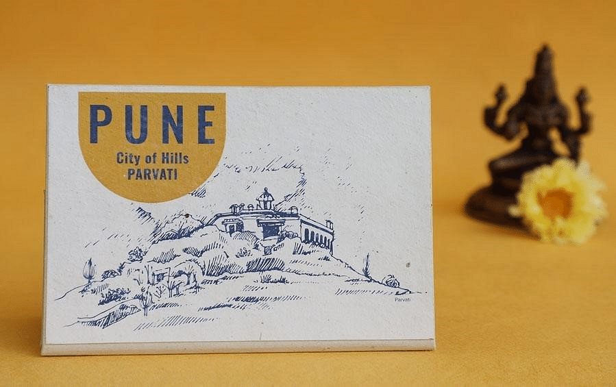 A postcard on sale at Indic Inspiration