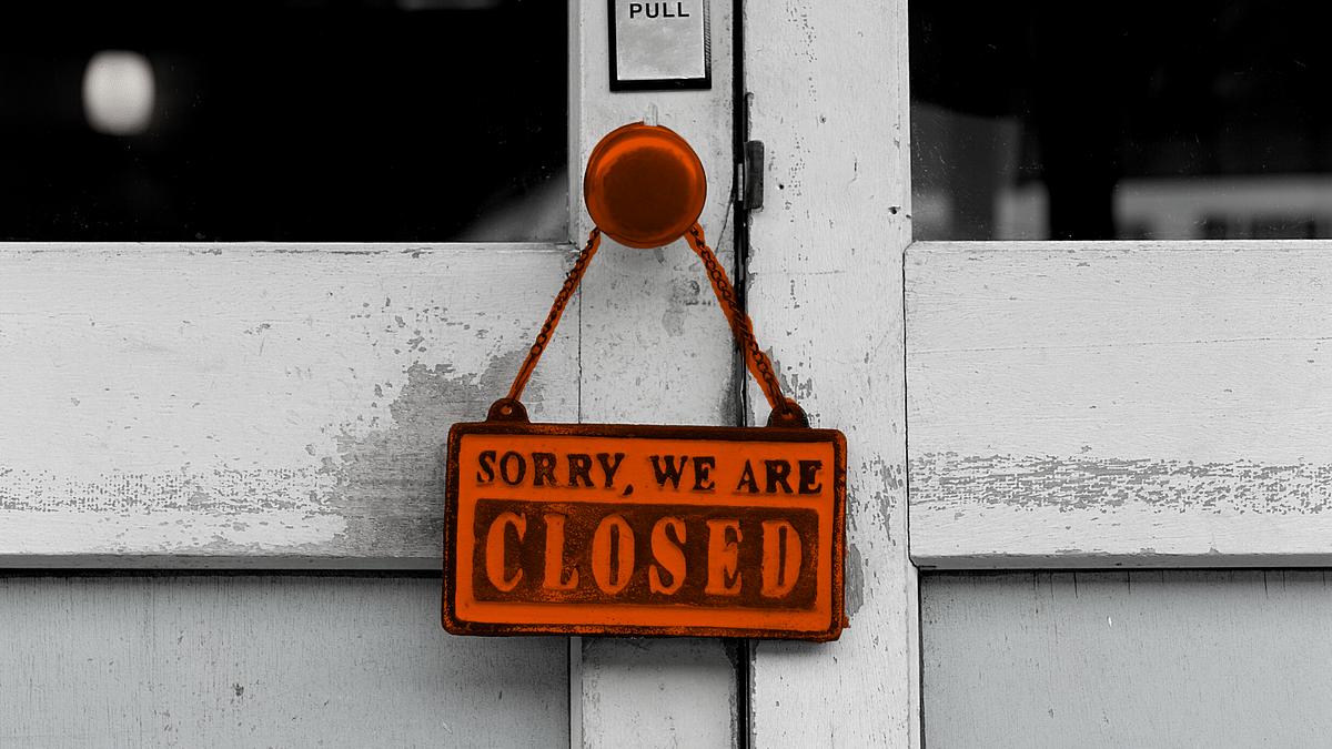 Shops on bustling Laxmi Road in Pune remain shut during lockdown (File pic)