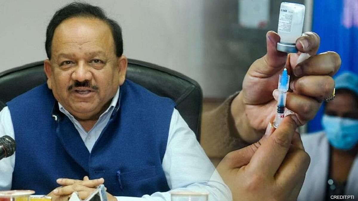 Centre will continue to give free vaccines to states, says Health Minister Harsh Vardhan