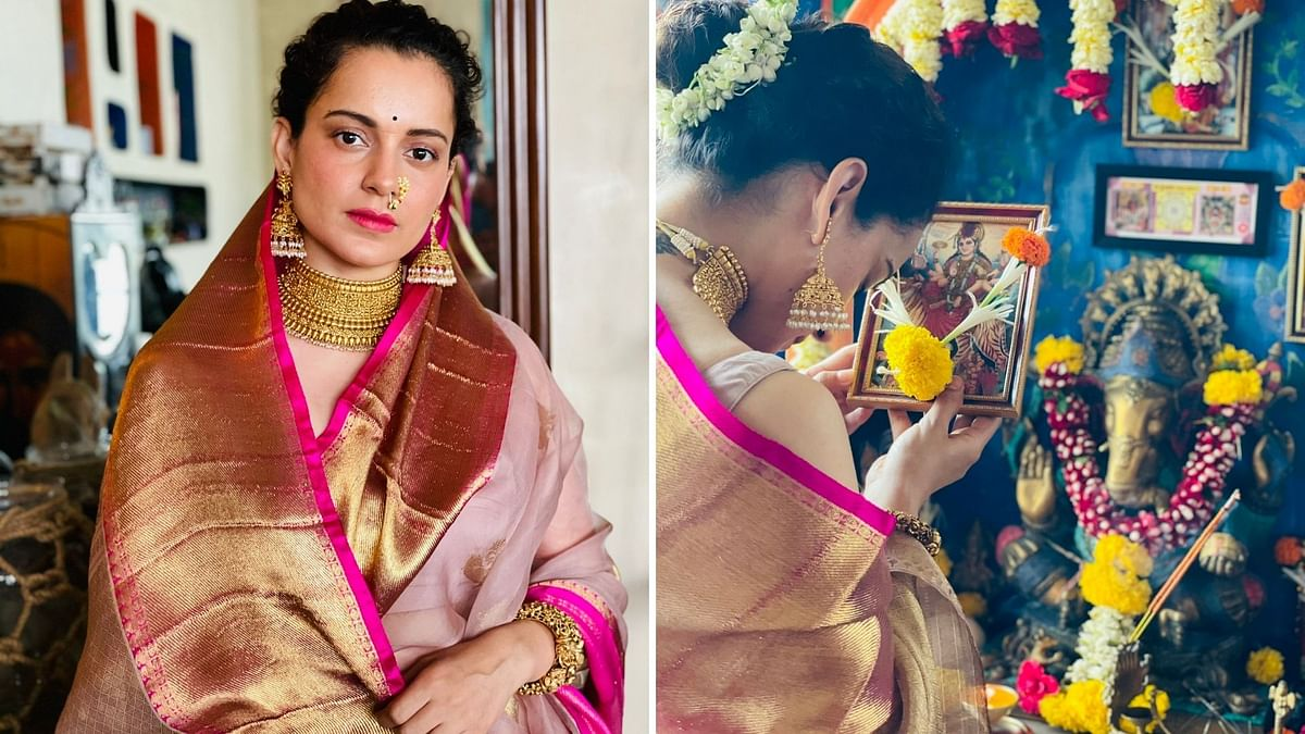 Gudi Padwa 2021: 'Lost a lot but this stayed' Kangana Ranaut shares post on Twitter