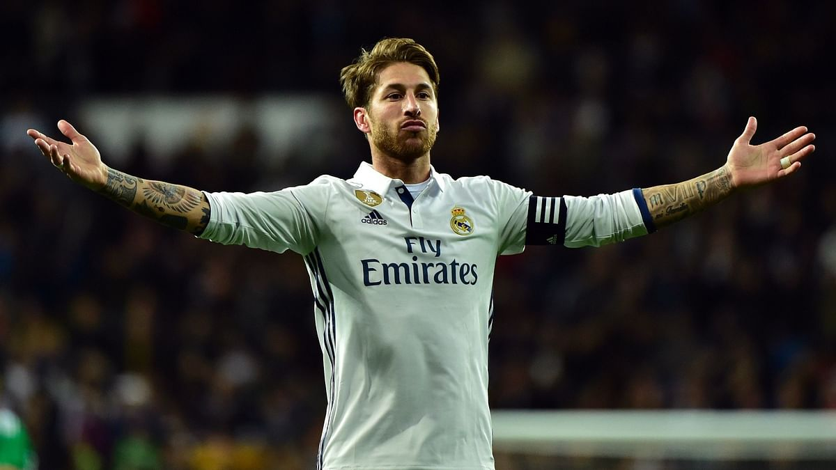 Real Madrid captain Sergio Ramos tests positive for Covid-19