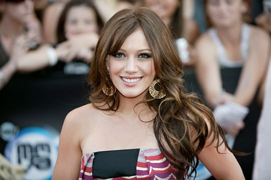 Hilary Duff at the MMVA awards, 2007