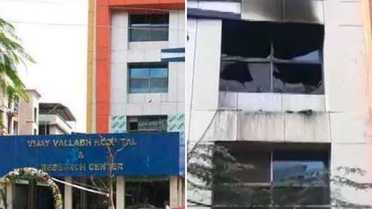 Maharashtra: 13 patients dead after fire breaks out at COVID-19 hospital in Virar