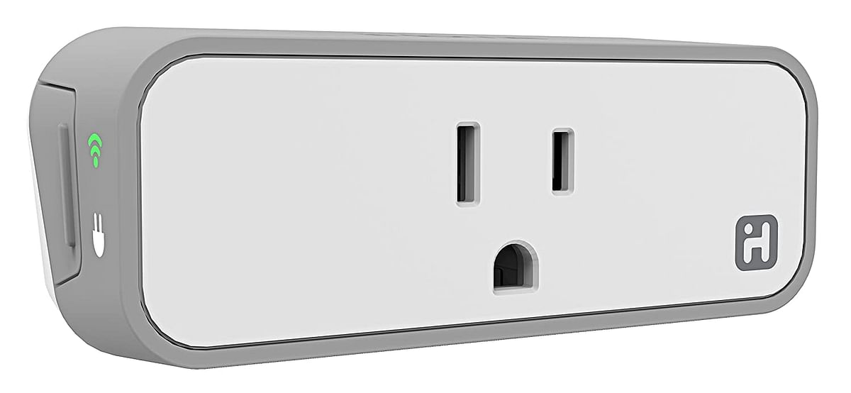 Amazon's smart plug can be connected using Bluetooth.