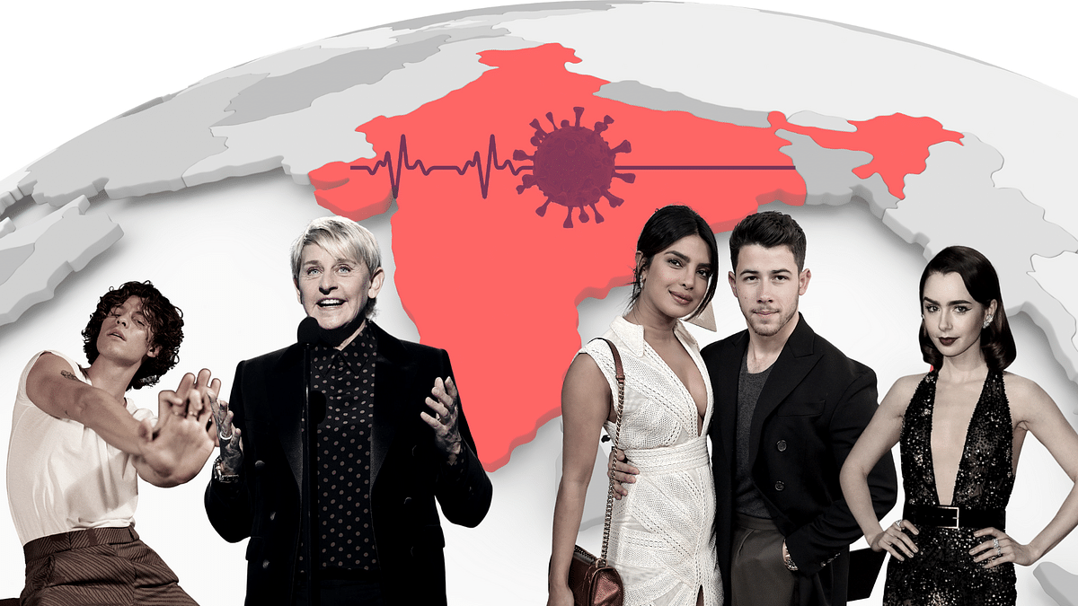 These global celebs support India's fight against COVID-19