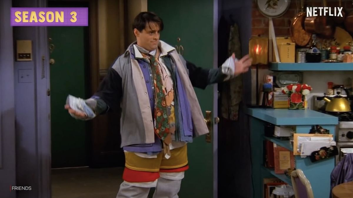 One of the scenes from the episode 'The One Where No One's Ready'
