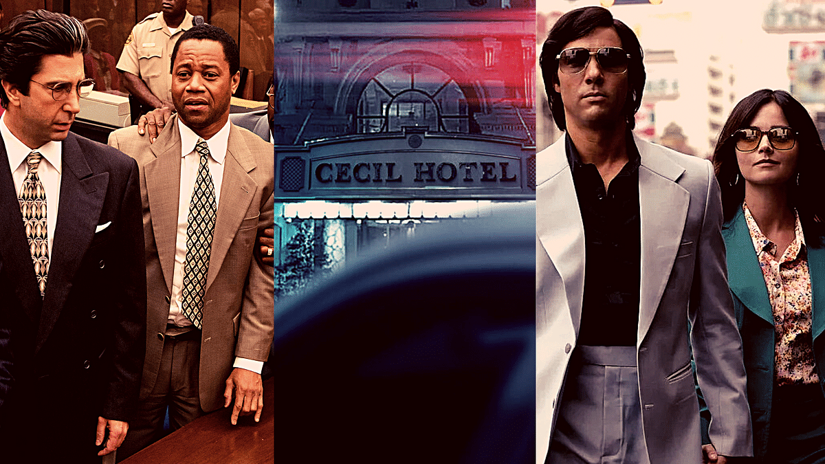 Among some of the true crime shows are 'The People v. O. J. Simpson: American Crime Story,' 'Crime Scene: The Vanishing at the Cecil Hotel,' and 'The Serpent'