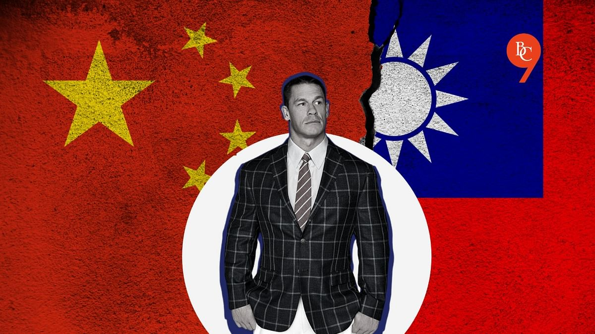 Here's why John Cena apologised to China for calling Taiwan a country