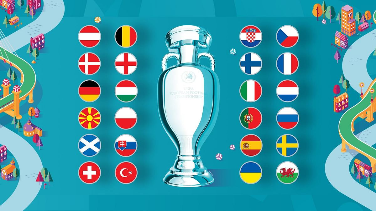 EURO 2020 will start from June 12 where 24 European countries will battle each other to conquer the coveted trophy