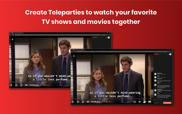 Netflix Party allows you to stream movies with your friends.