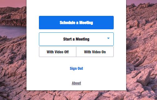 Schedule quick meetings with Zoom Scheduler.