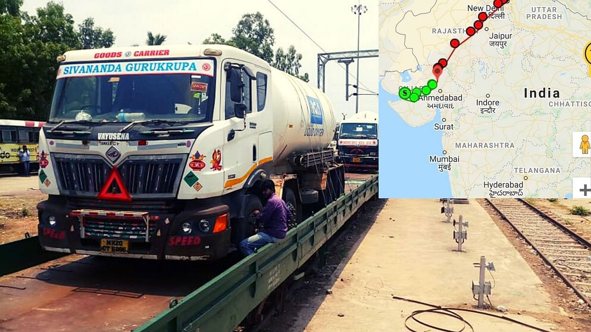 A close watch: Now, GPS will keep an eye on oxygen tankers for safe transit