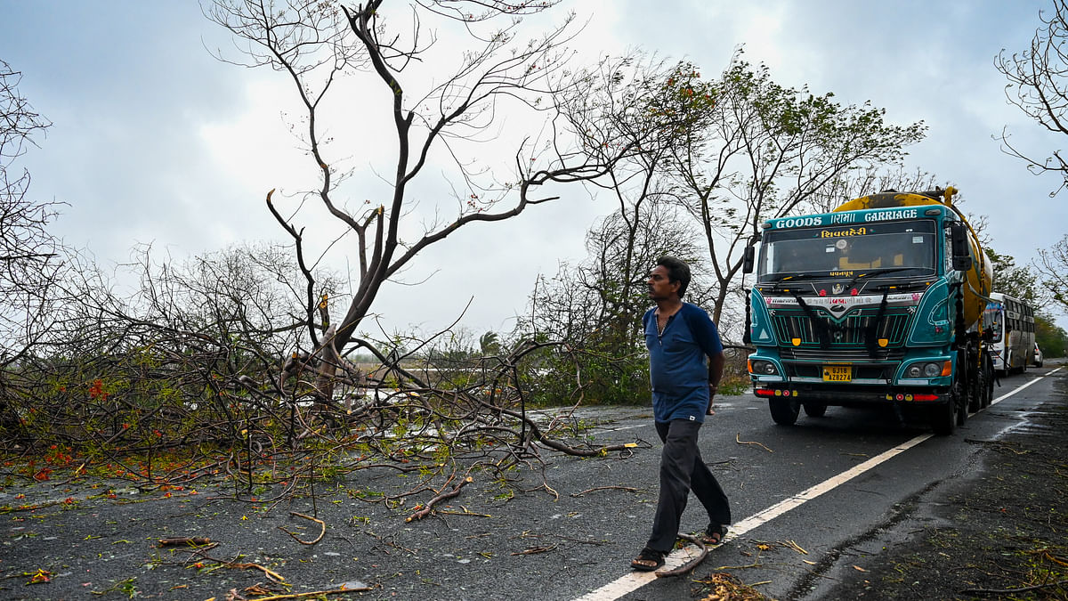Cyclone Tauktae leaves behind a trail of destruction in India