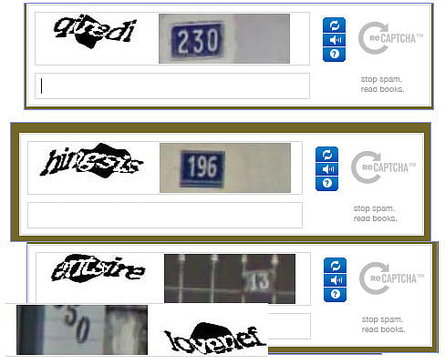 Sometimes, CAPTCHA images can be challenging to decipher.