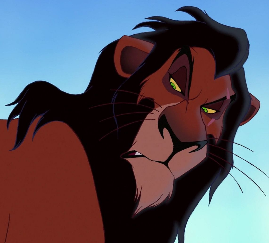 Disney's Scar is one of the most formidable villains