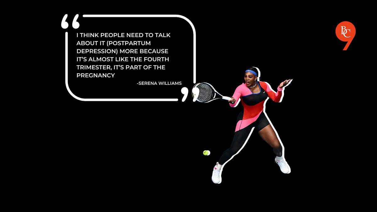 Serena Williams talks about Postpartum Depression in 2018