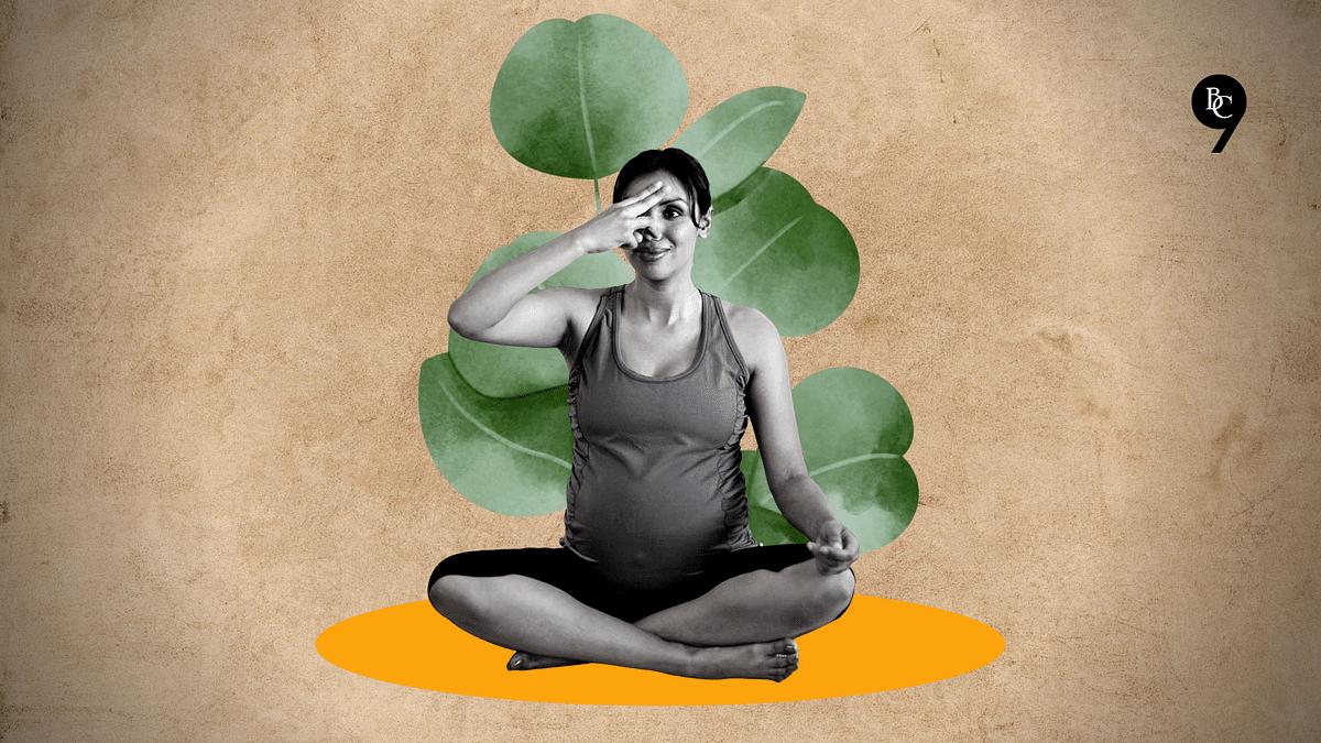 As part of prenatal yoga, one can practice Nadi Shodhan Pranayama