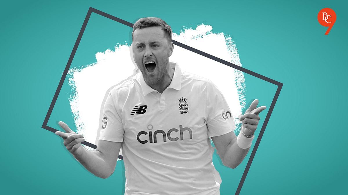 Why did ECB suspend England bowler Ollie Robinson from international cricket?