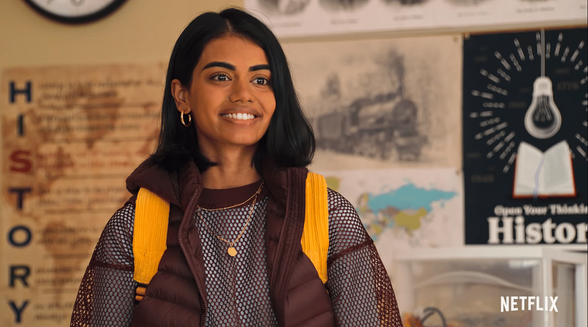 Devi has Aneesa, a new exchange student, to worry about in season 2.