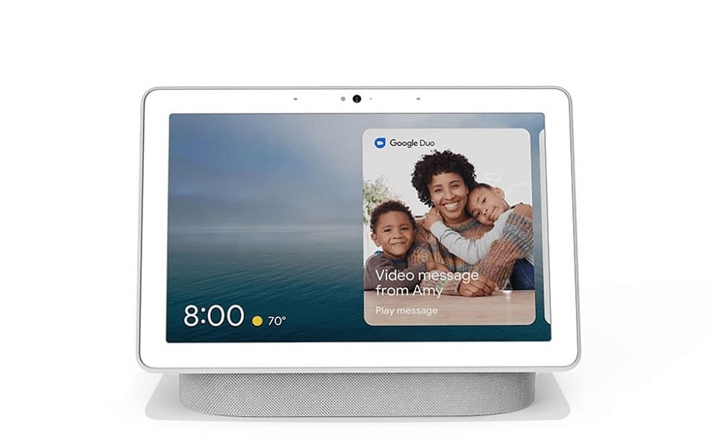Google Nest Hub can double as a baby monitor.
