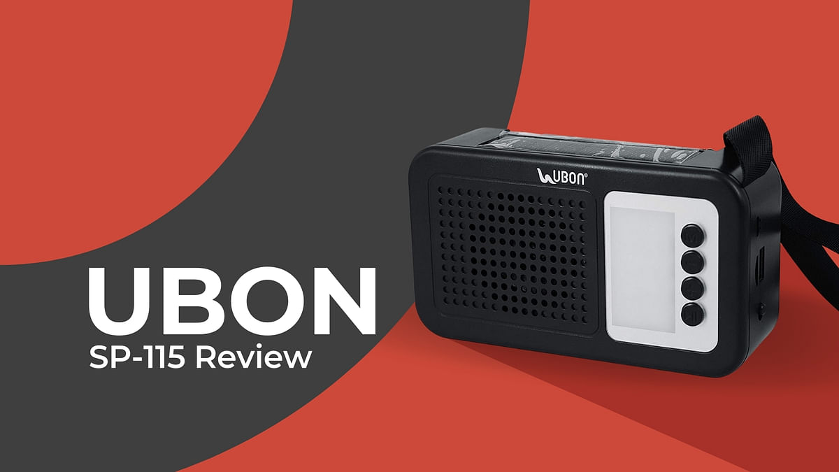 Power-packed playback: Should you invest in UBON's Solar Powered Wireless Speaker?