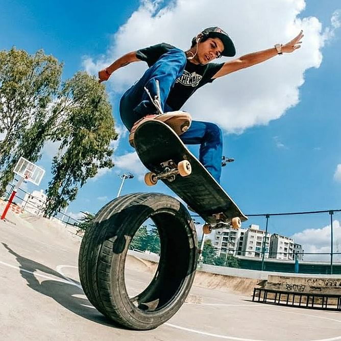 Being a professional skateboarder isn't a half-pipe dream anymore for Shubham Surana.