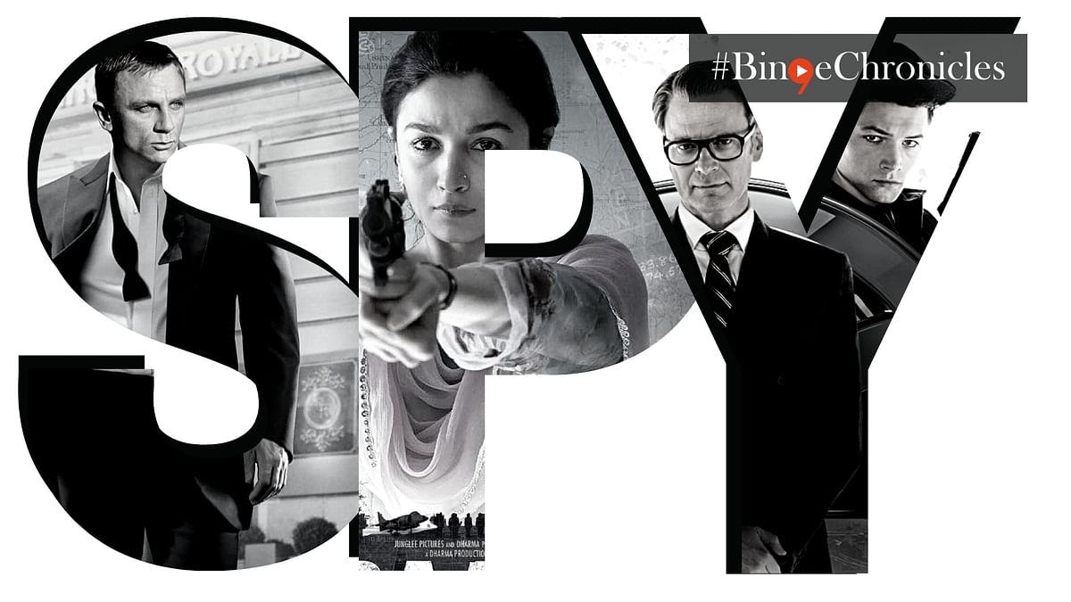 #BingeChronicles: I spy, you spy, and we all spy this weekend!