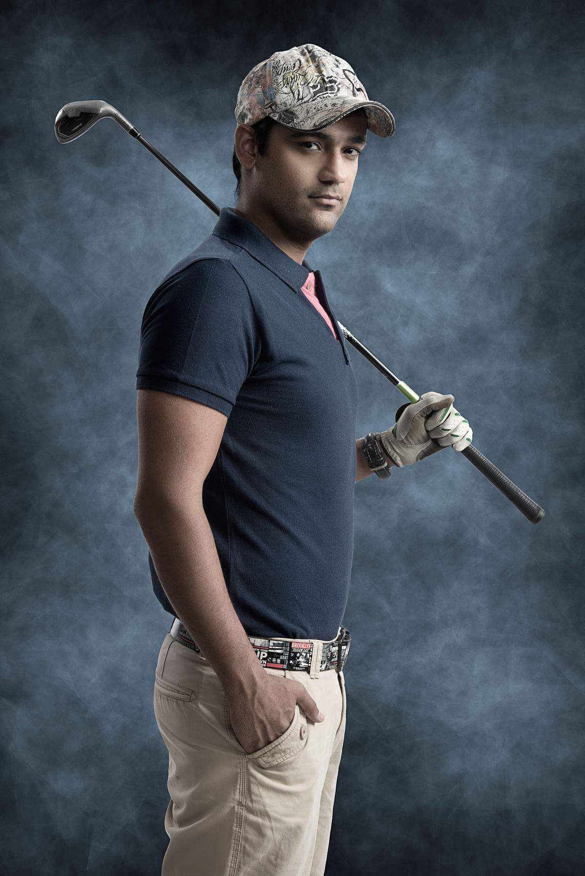 Rehan has embraced golf in the second innings of his sporting career