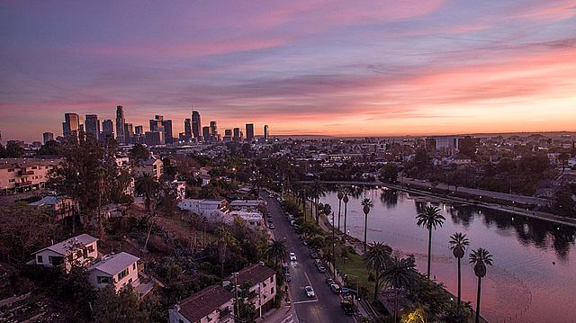 The beautiful city of Los Angeles