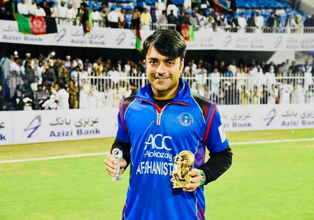 Rashid Khan becomes the  best One Day International bowler in the world