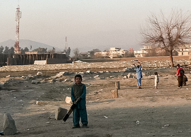 Cricket is played in every nook and corner of Afghanistan