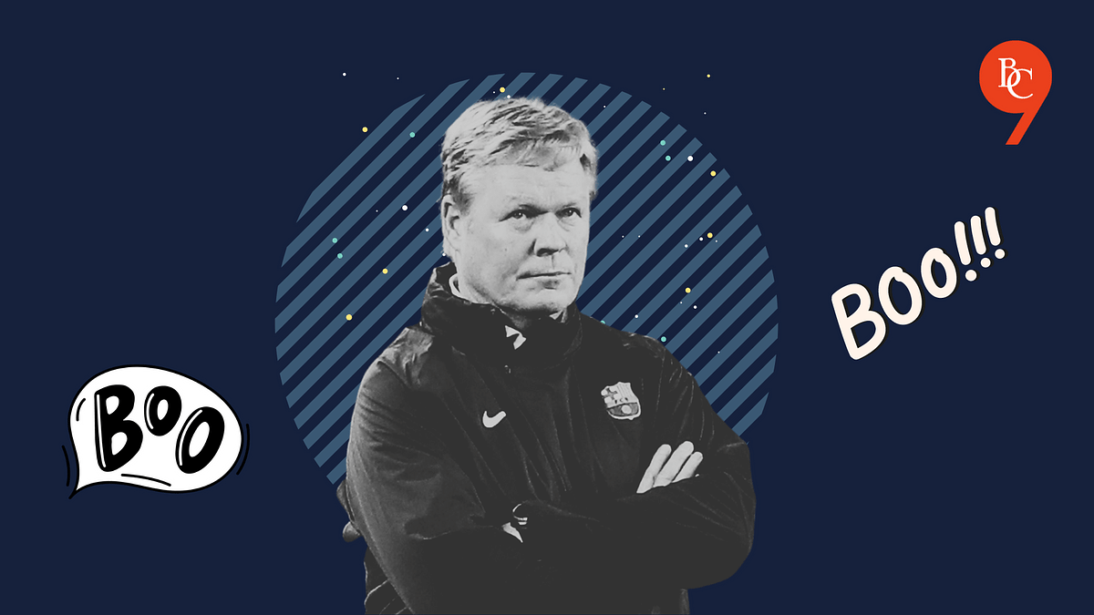 Another loss will seal Barcelona's coach's future at Barcelona