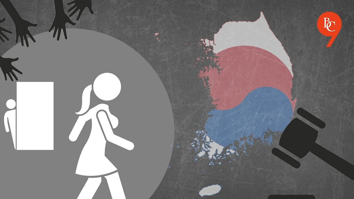 What is the newly introduced anti-stalking law in South Korea?