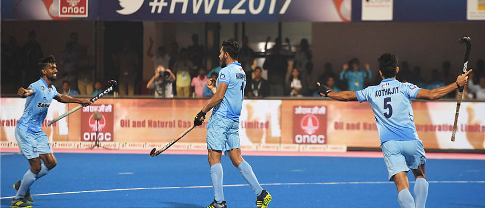 India beat Germany 2-1 to reclaim bronze at HWL Final