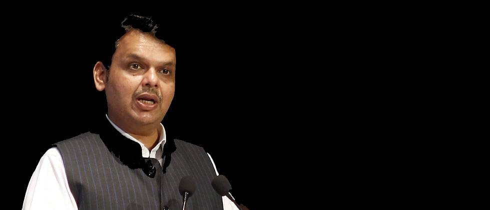 Maharashtra CM Fadnavis lays foundation stone of cyber lab, police complex