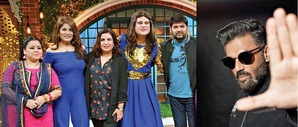 Suniel Shetty was not the first choice to play villain in 'Main Hoon Na': Farah
