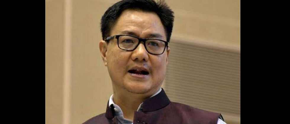 Kiren Rijiju to hold 2-day video conference with Sports and Youth Affairs ministers of all states and UTs