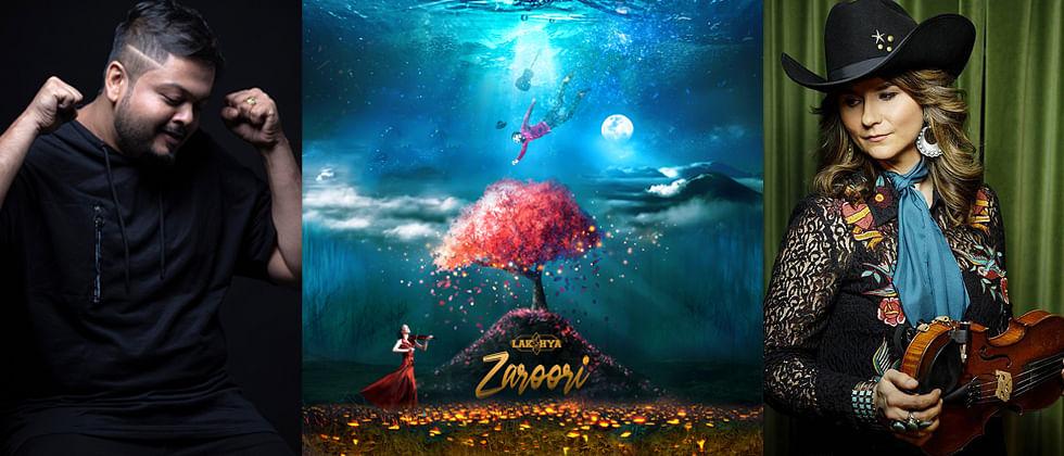 Pune's Lakshya Bhatnagar collaborates with CMA award-winning Jenee Fleenor over new track 'Zaroori'