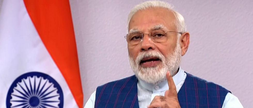 PM Narendra Modi launches Garib Kalyan Rojgar Abhiyaan