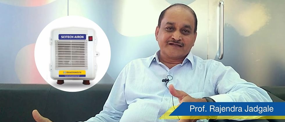 SciTech Arion Air Purifier can kill all viruses, including Corona, claims Pune-based Prof. Rajendra Jagdale