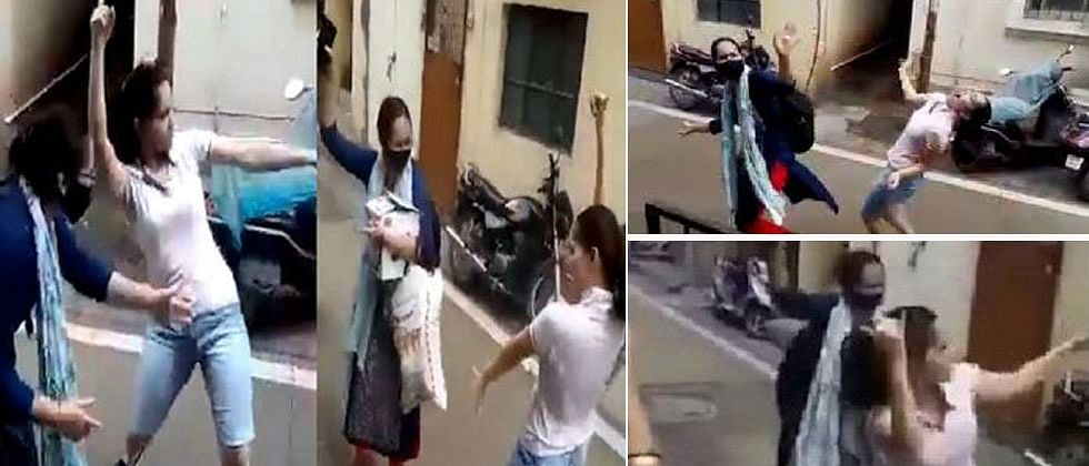 Pune girl's dancing video of welcoming her sister who fought COVID-19 goes viral