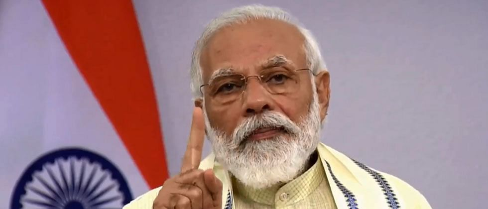 PM Narendra Modi: 80 crore people to be given free food grains till November
