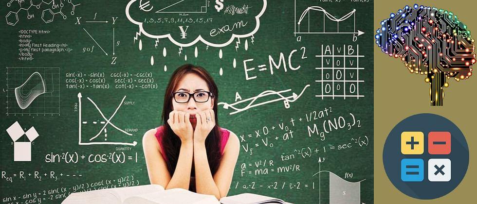 Using Artificial Intelligence to overcome 'mathophobia'