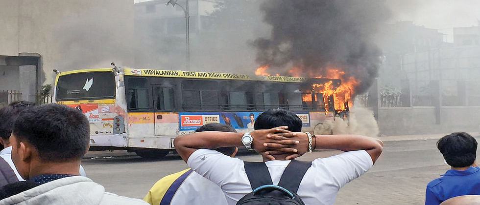 Two PMPML buses catch fire, all passengers safe