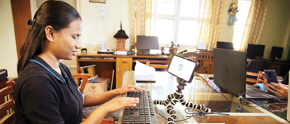Swalekhan: Empowering The Visually Impaired To Write