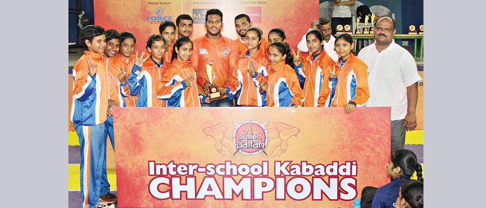 Jnana Prabodhini, Nagarvala Boarding emerge victorious