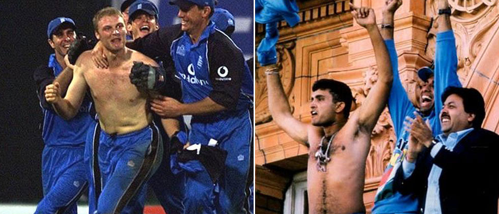 Sourav Ganguly, Andrew Flintoff, the 2000s and a tale of two blue jerseys