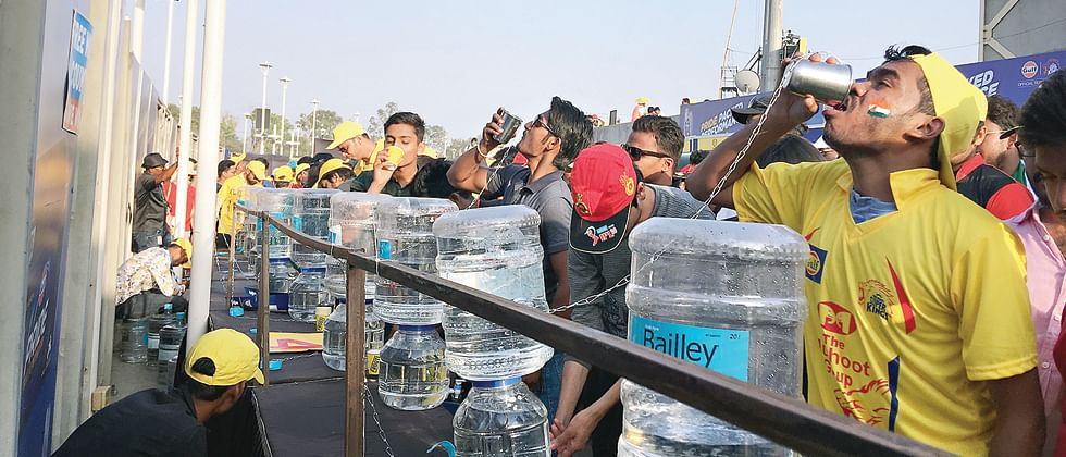 Plastic waste down by 90 per cent on IPL  match days in Pune